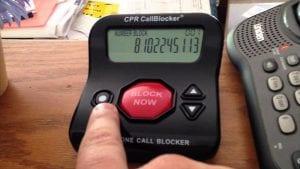 Landline Call Blocker