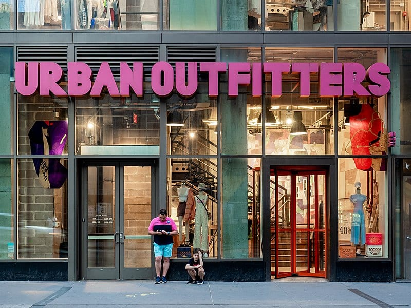 Urban Outfitters Store in Lower Manhattan, New York City
