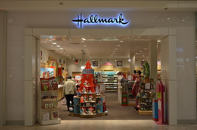 A Hallmark Store in Markville Shopping Centre