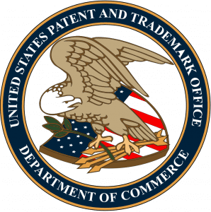 Seal of the United States Patent and Trademark Office; image by U.S. government, public domain.