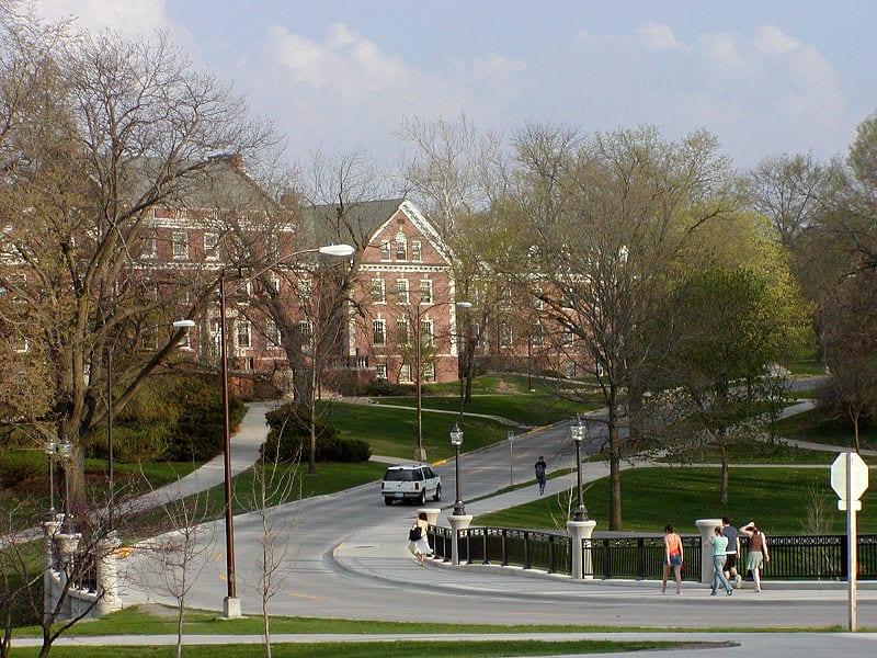 View of Iowa State University
