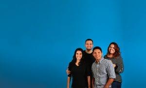 Family of four; image by Gustavo Alves, via Unsplash.com.