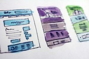 Storyboard for a website; image by Hal Gatewood, via Unsplash.com.