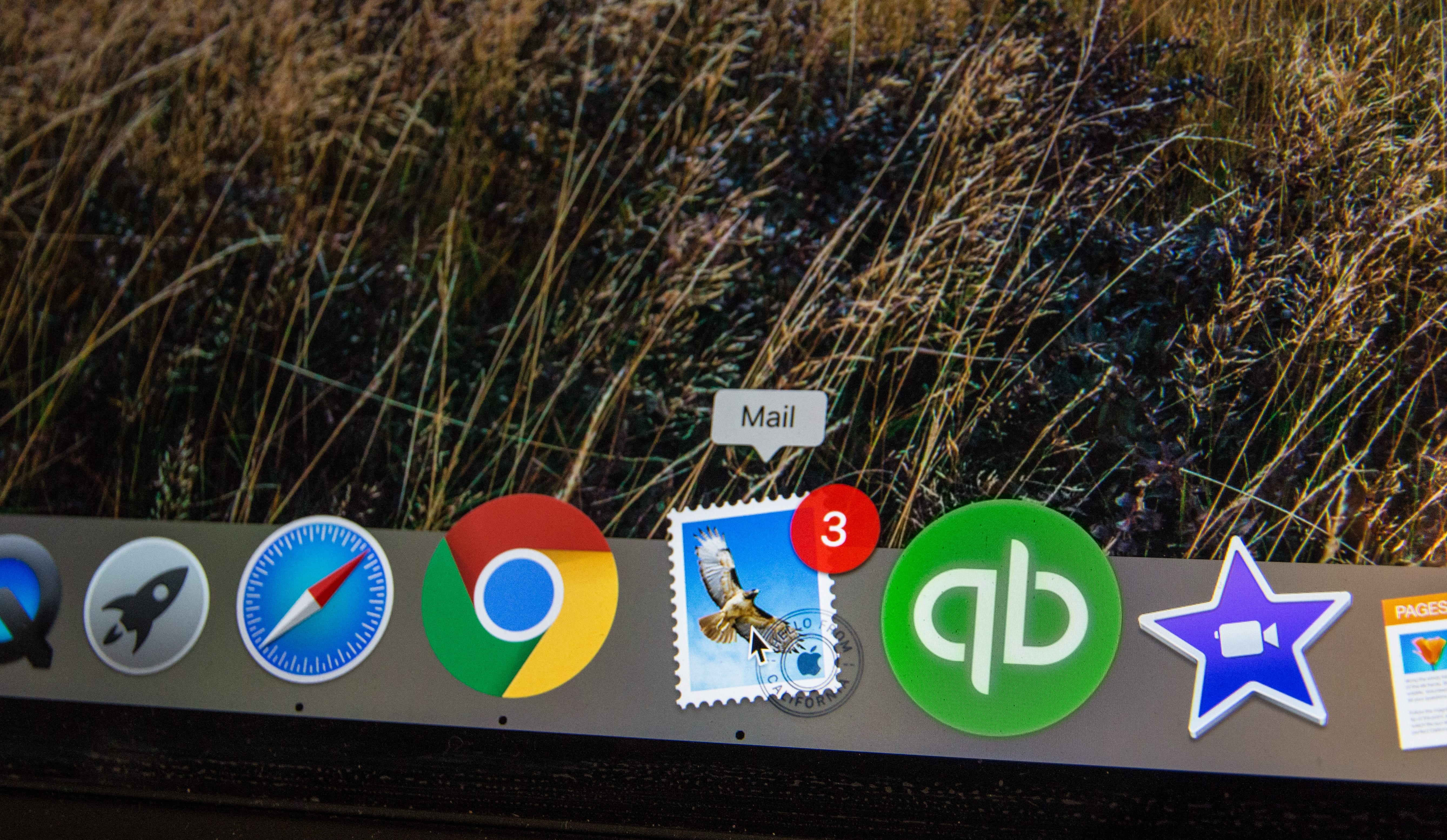 Email icon in Mac dock; image by webaroo.com.au, via Unsplash.com.