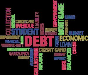 Student debt graphic
