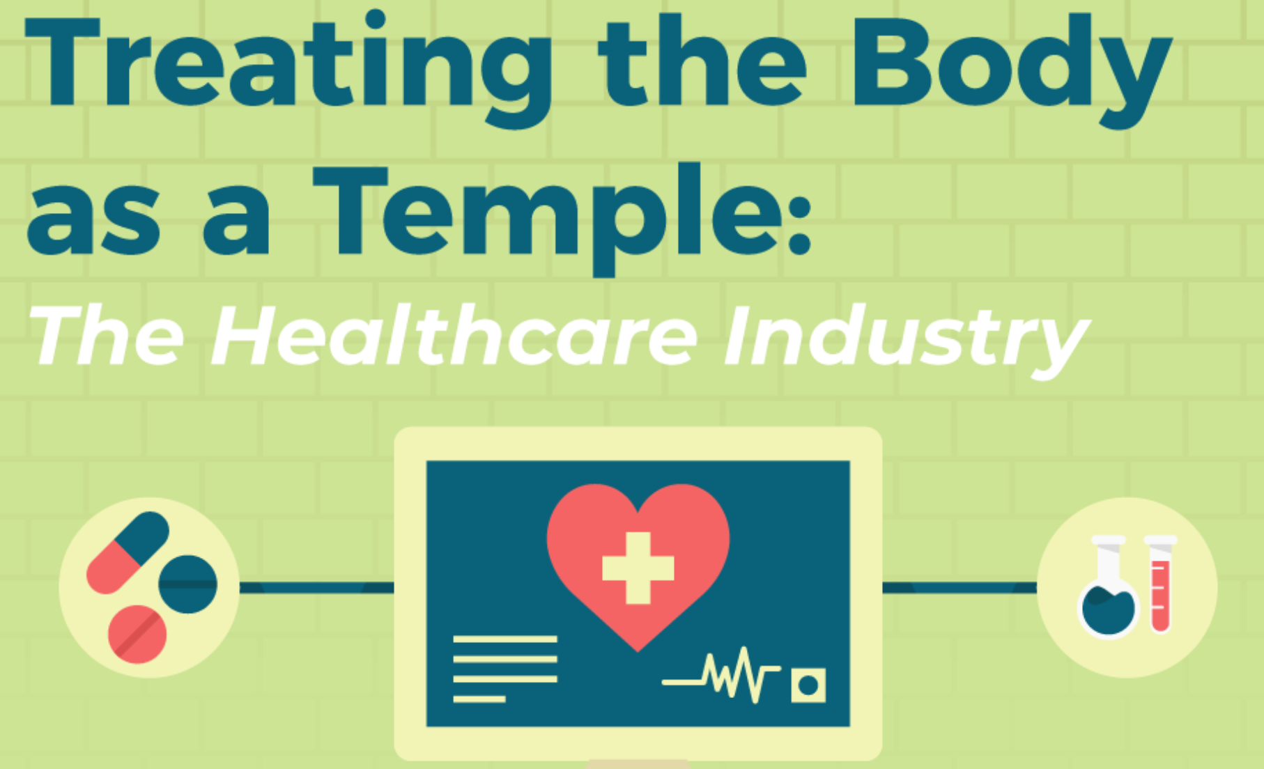 Treating the Body as a Temple; graphic courtesy of author.