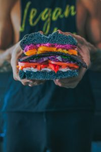 Vegan Black LT Sandwich; image by Creatv Eight, via Unsplash.com.
