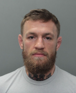 Conor McGregor; image by Miami Beach Police Department / Public domain.