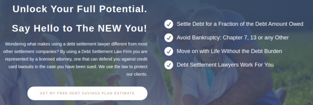 Aspects of debt relief; image courtesy of mccarthylawyer.com.