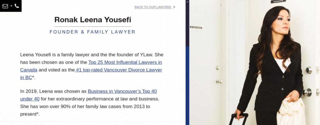 Ylaw attorneys; image courtesy of Ylaw.ca.