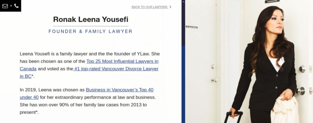 Ylaw attorneys; image courtesy of Ylaw.ca.