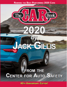 The Car Book 2020, by Jack Gillis; courtesy of the Center for Auto Safety.