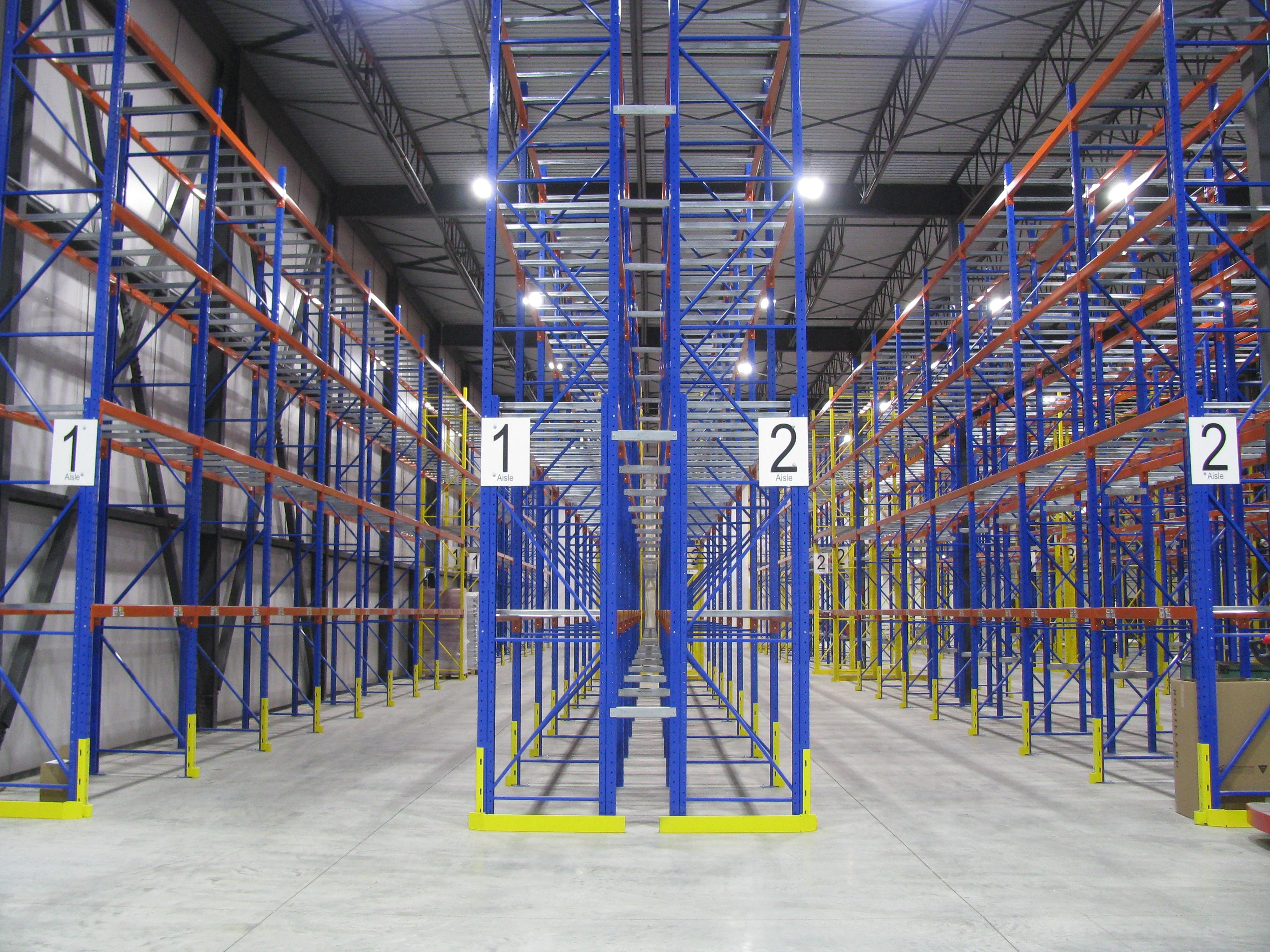 Empty storage shelves; image by Michel Toulouse, via PxHere.com, CC0.