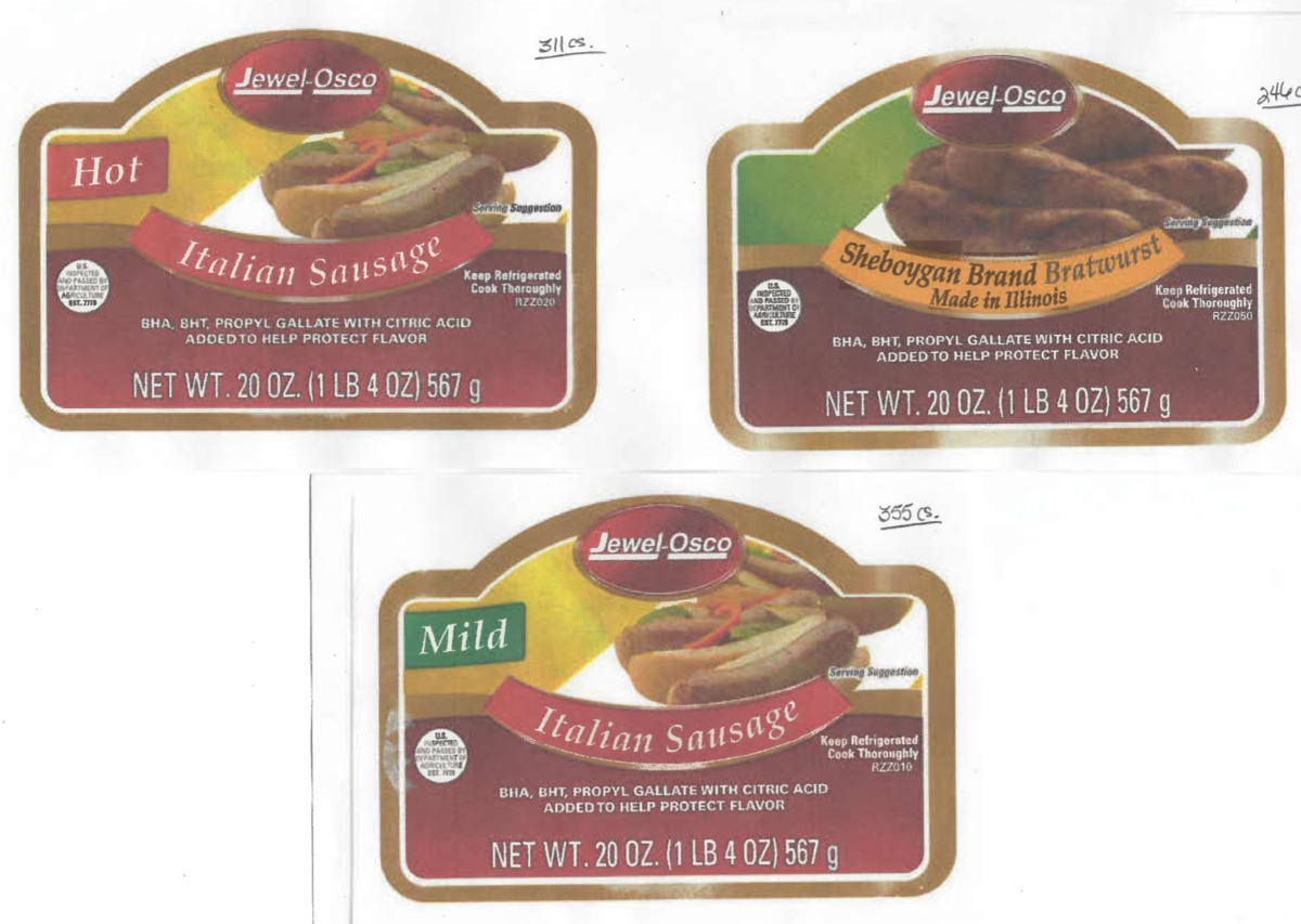 Recalled Pork Products