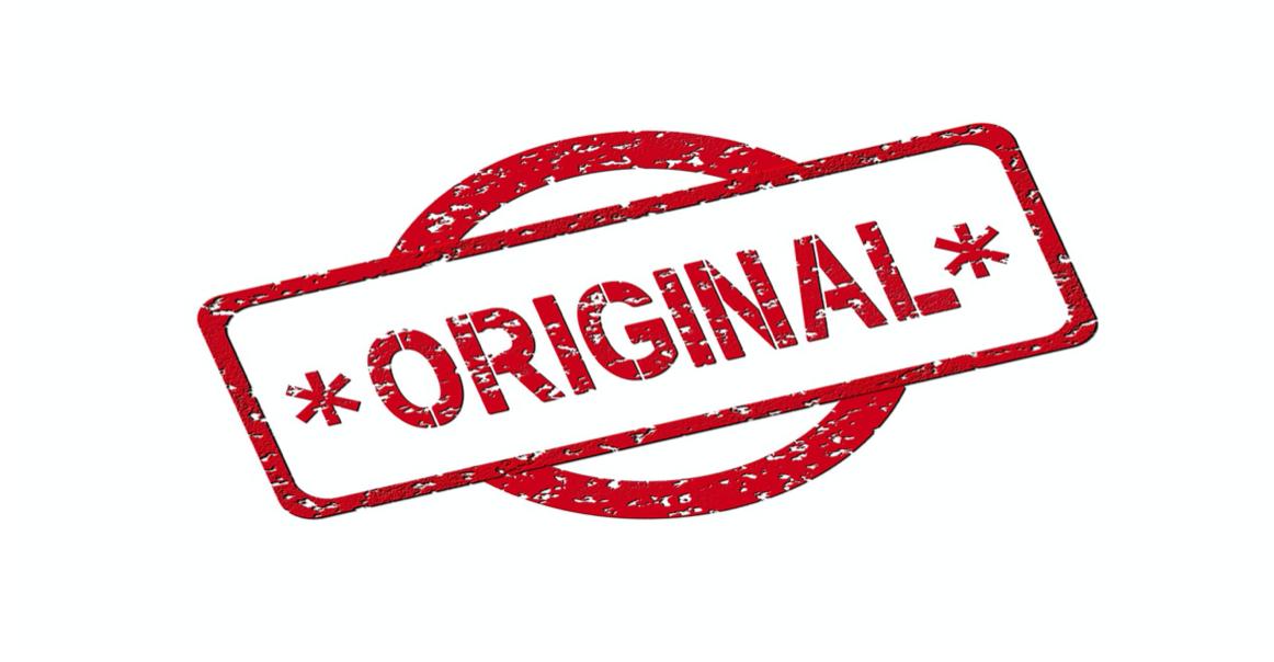 """Graphic that says """"Original."""" Image by Geralt, via Pixabay.com."""