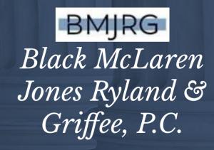 Black McLaren Jones Ryland & Griffee, P.C. logo, courtesy of firm.