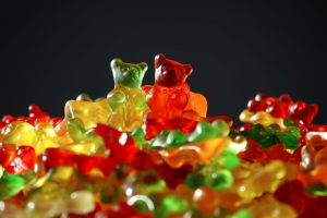 Multicolored assortment of gummy bears; image by Pixabay, via Pexels.com.