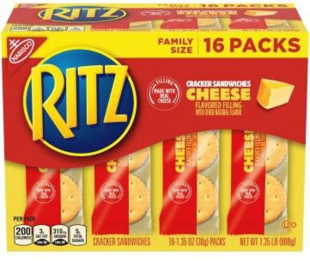 Recalled RITZ crackers