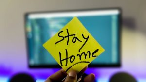 Stay Home note