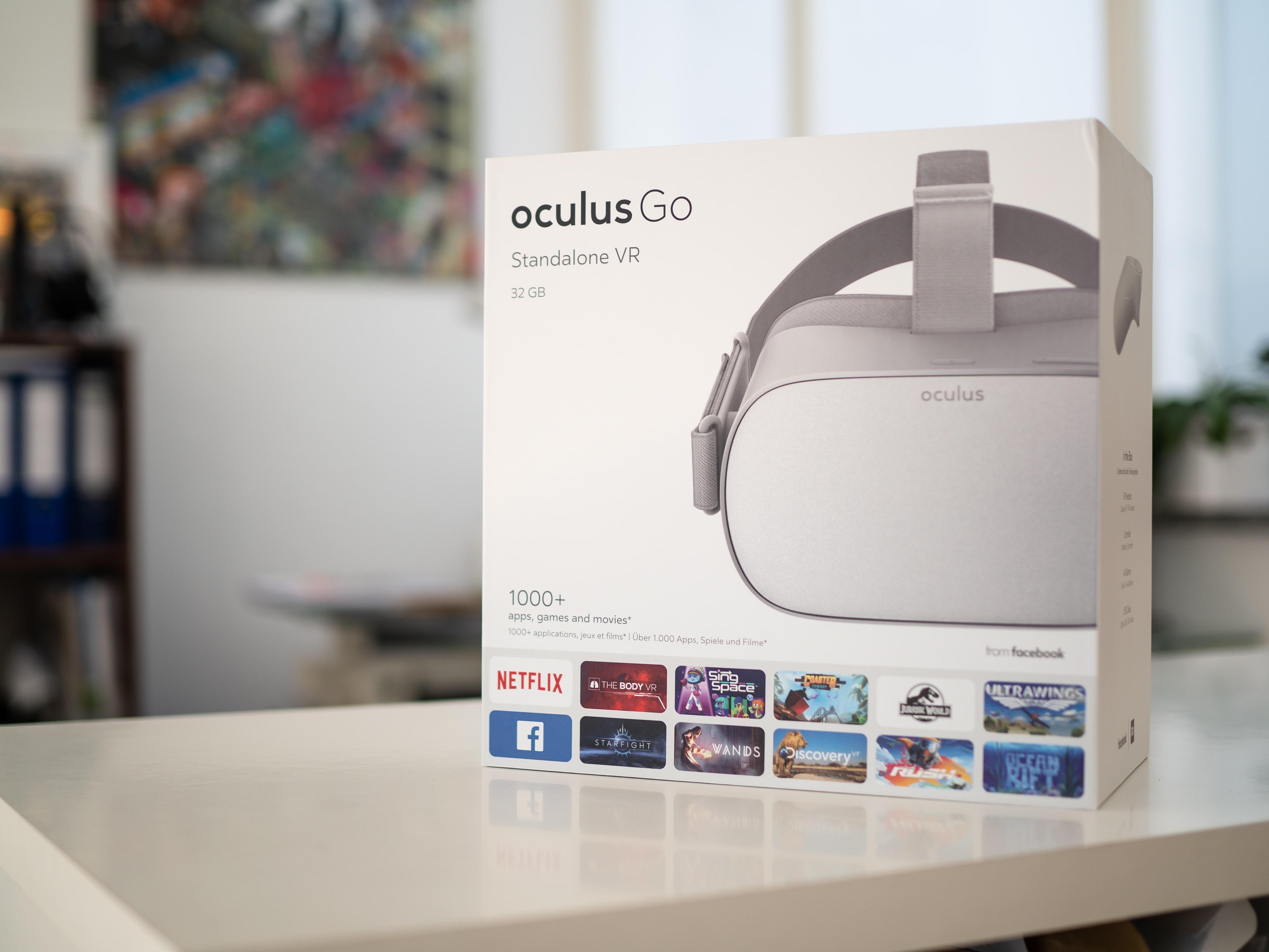 Oculus Go packaging; image by Marc Mueller, via Unsplash.com.