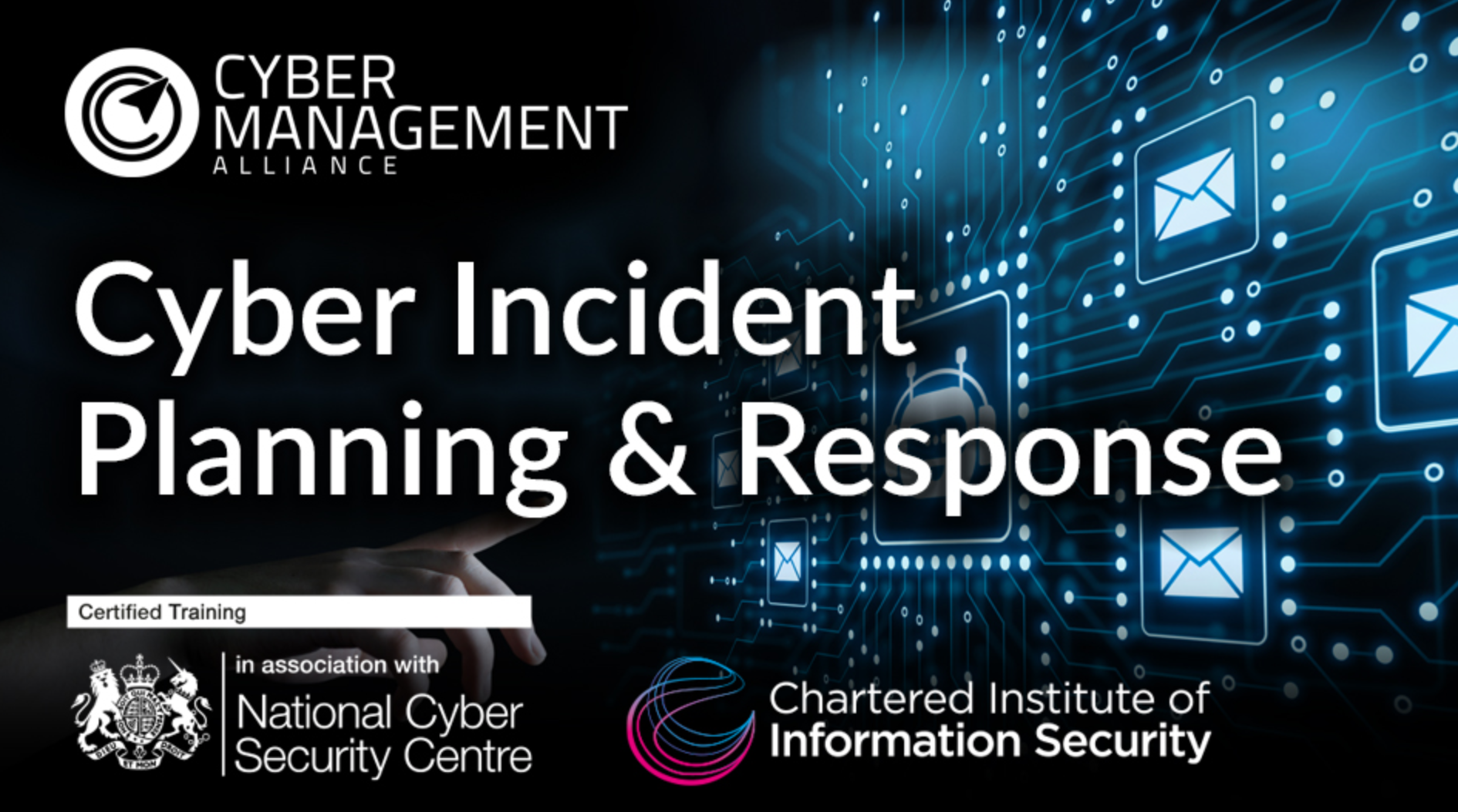 Cyber Incident Planning & Response Course homepage; courtesy of Cyber Management Alliance.