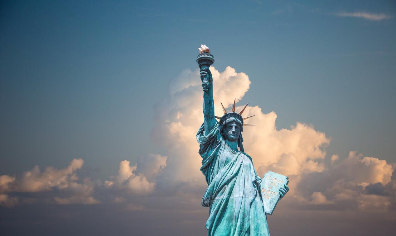 Statue of Liberty; image by Pixabay, via Pexels.com.