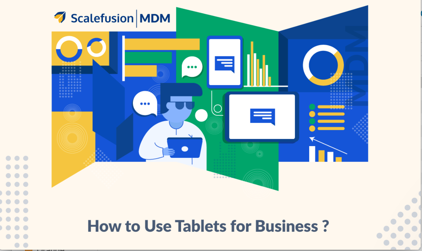 Graphic: How to Use Tablets for Business, courtesy of author.