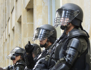 Riot police; image by Parameciorecords, via Pixabay.com.
