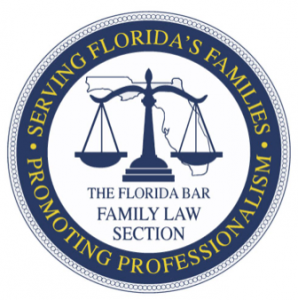 Seal of The Florida Bar Family Law Section, courtesy of the Section.