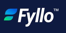 Fyllo logo, courtesy of Fyllo.