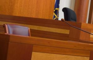 Empty witness stand; image by Brad Shorr, via wikimedia.com, public domain.