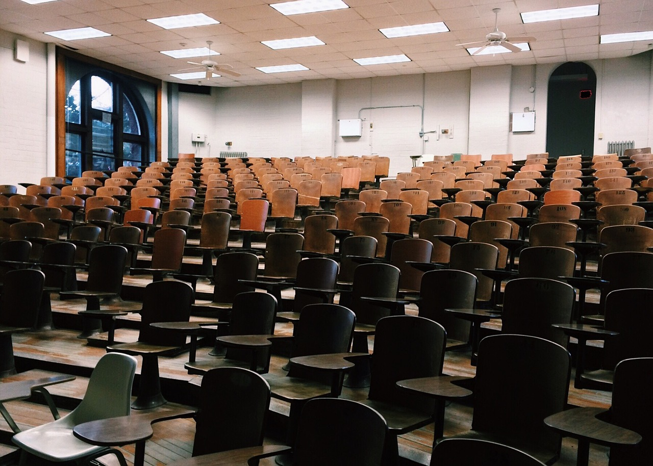 College lecture hall