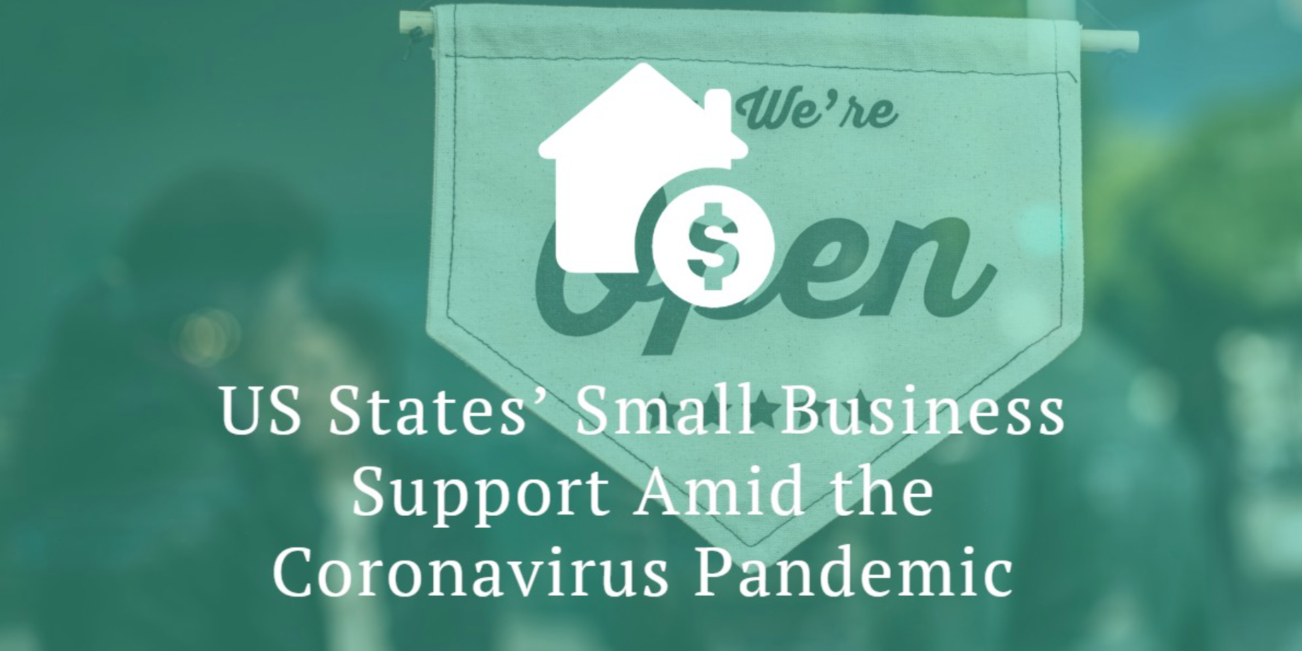 US States' Small Business Support Amid the Coronavirus Pandemic; image provided by BestAccountingSoftware.com.