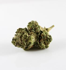 "A cannabis ""nugget""; image by Christina Winter, via unsplash.com."