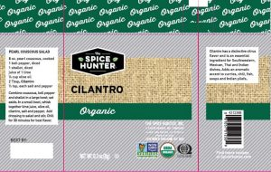 Recalled Sauer Brands Cilantro label