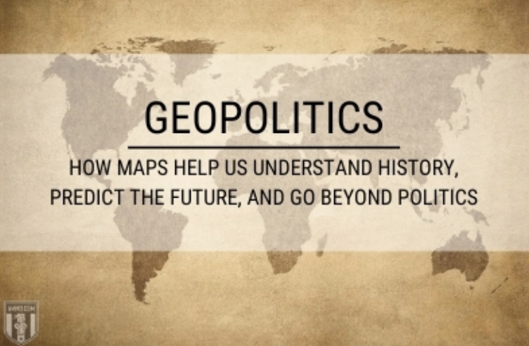 Geopolitics: How Maps Help Us Understand History, Predict the Future, and Go Beyond Politics; graphic courtesy of author.