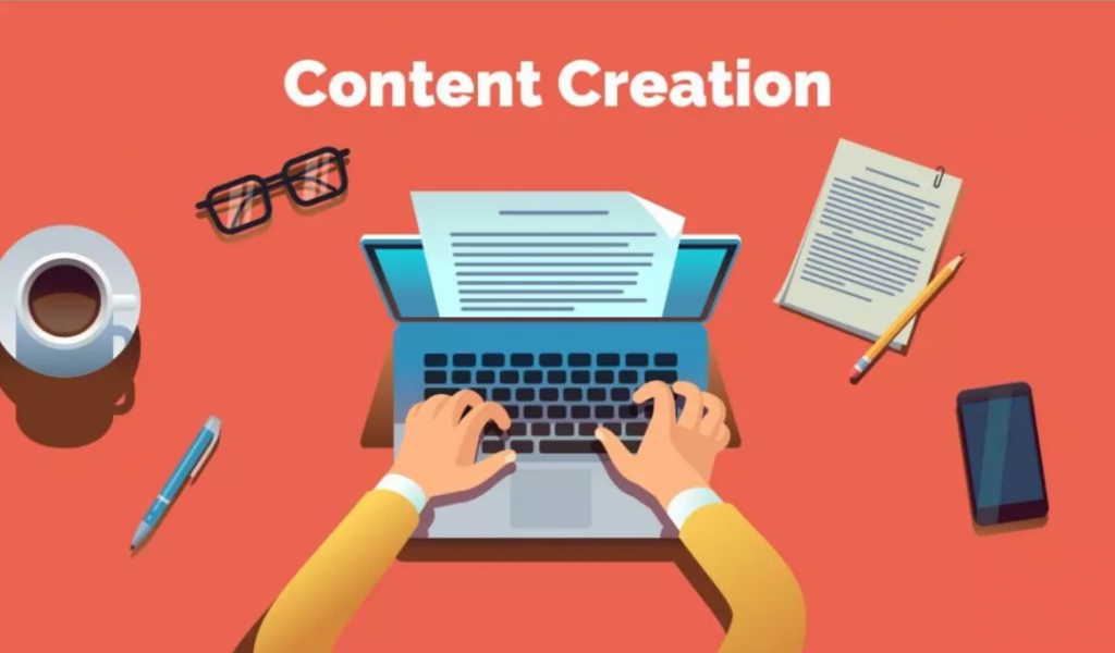 Content Creation; graphic courtesy of author.
