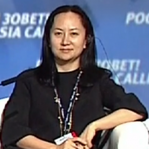 Meng Wanzhou; image by Office of the President of Russia, CC BY 4.0, cropped, via Wikimedia Commons.