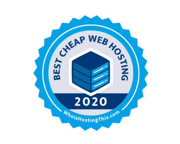 Best Cheap Web Hosting 2020; graphic courtesy of author.