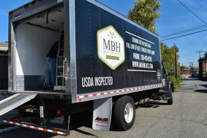 MBH Foods, LLC truck at event; image courtesy of MBH Foods.