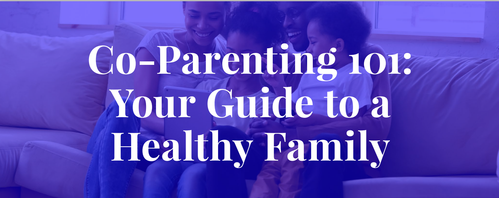 Co-Parenting 101: Your Guide to a Healthy Family; image courtesy of author.