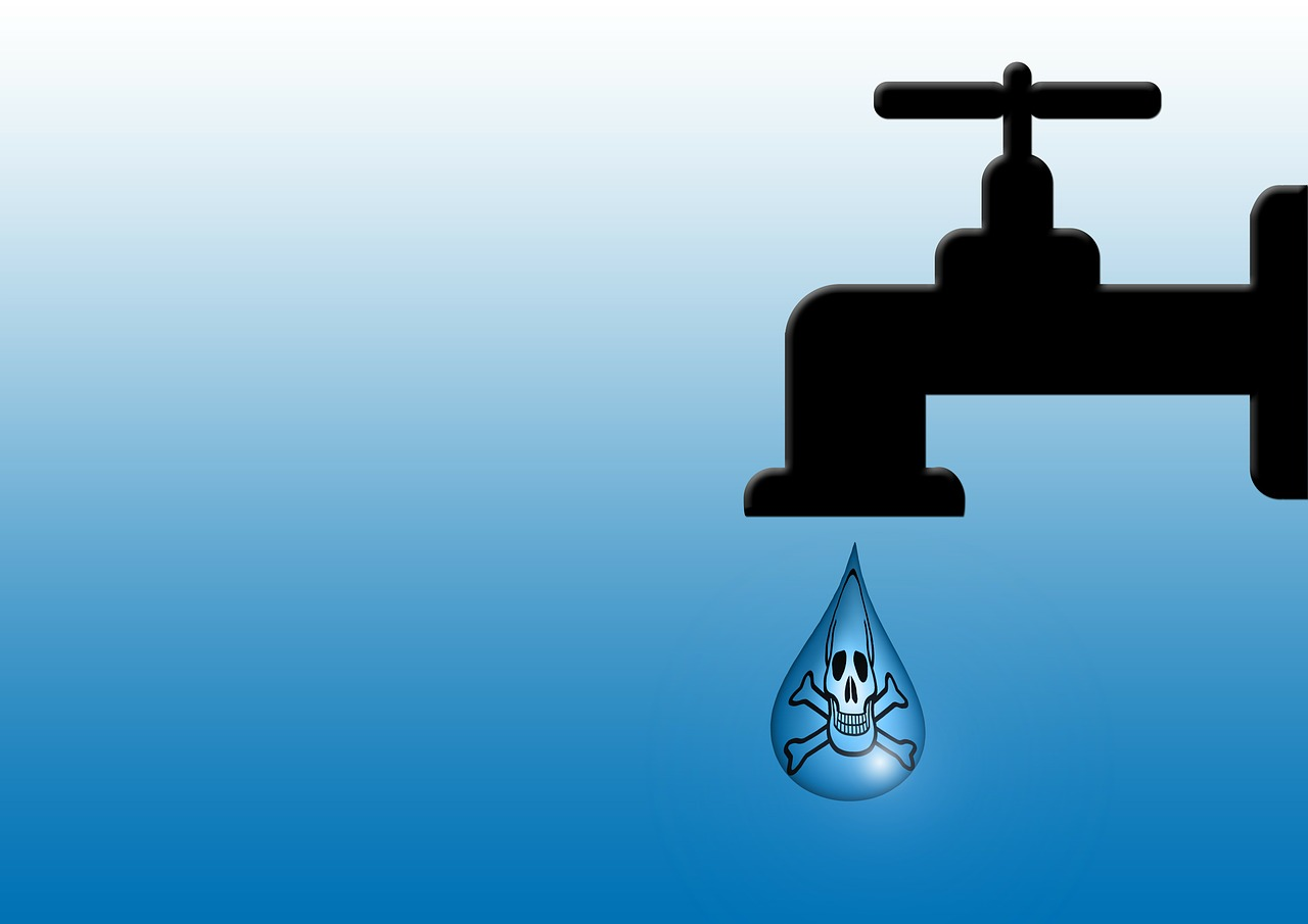 Water faucet graphic