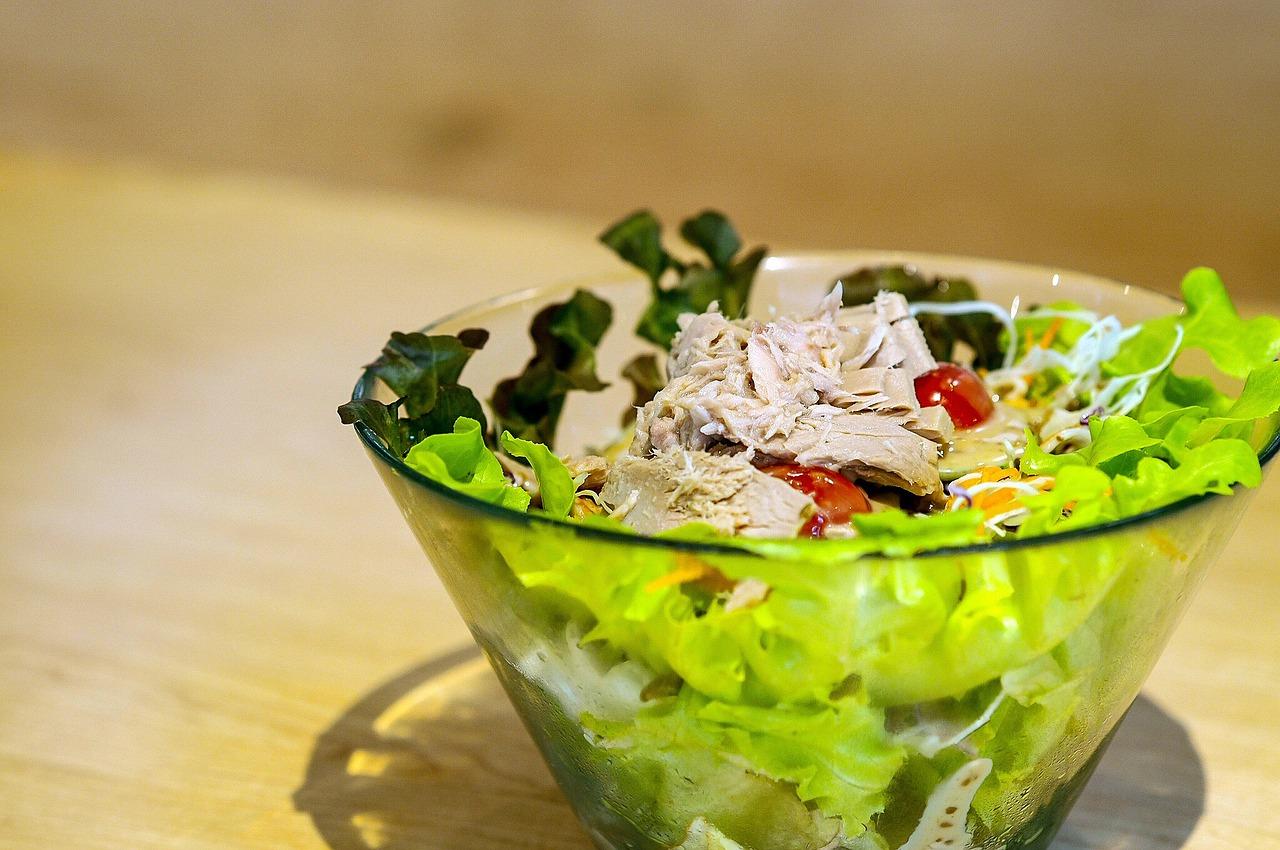 Bowl of tuna salad