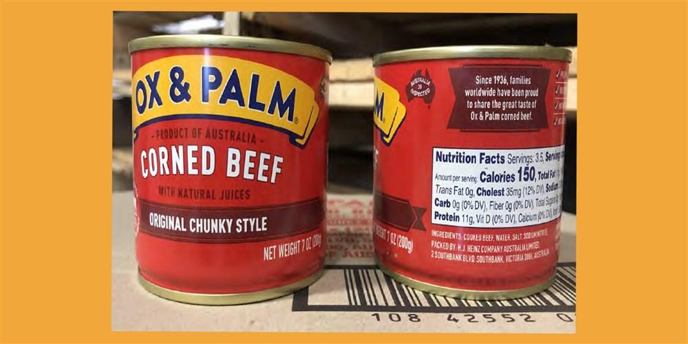 Recalled corned beef