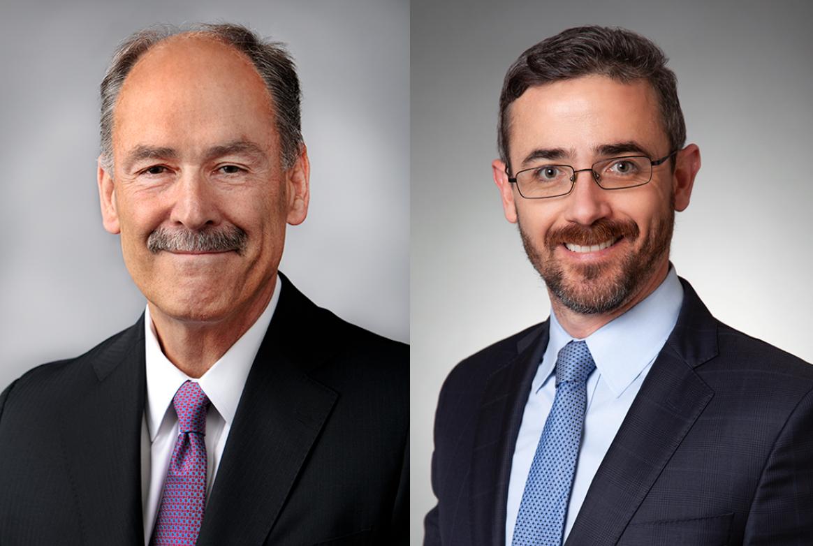George Mykulak (L) & Nolan Mitchell (R); image courtesy of Quarles & Brady.