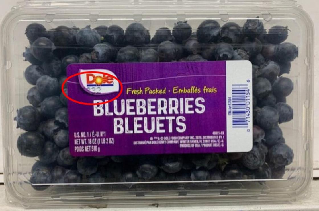 Recalled Blueberries