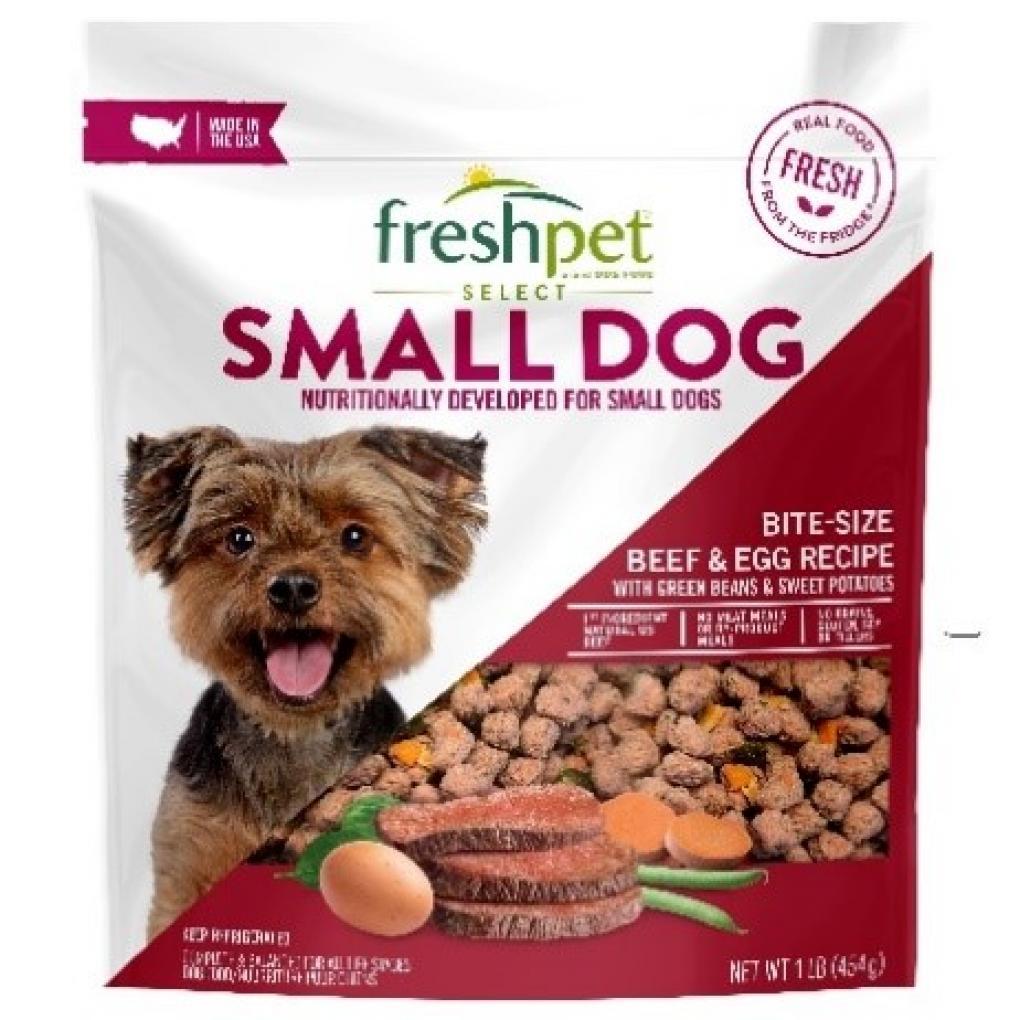 Recalled dog food