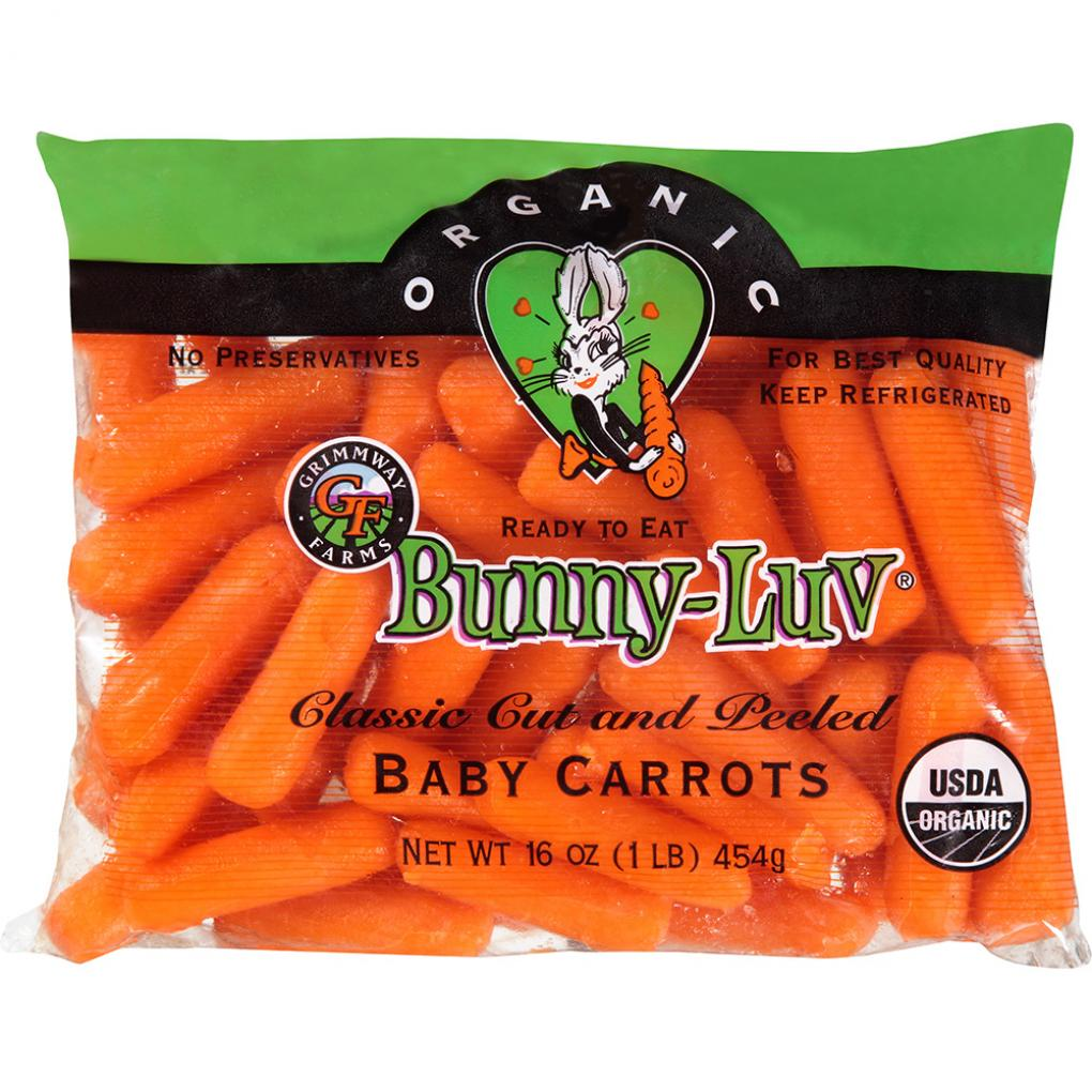 Recalled Carrots