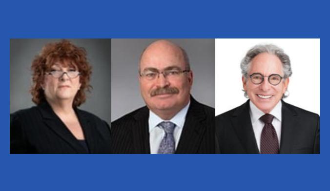 (L to R): Jody Aaron, Brian McKeen, Norman Rosen; images courtesy of McKeen & Associates.